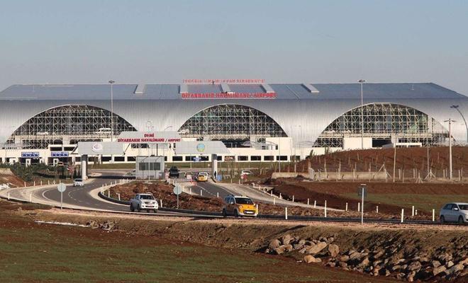 Diyarbakır Havalimanı 30 gün süreyle tüm uçuşlara kapatıldı