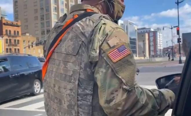ABD'de Kongre binasına gidiş yolunda sıkı güvenlik