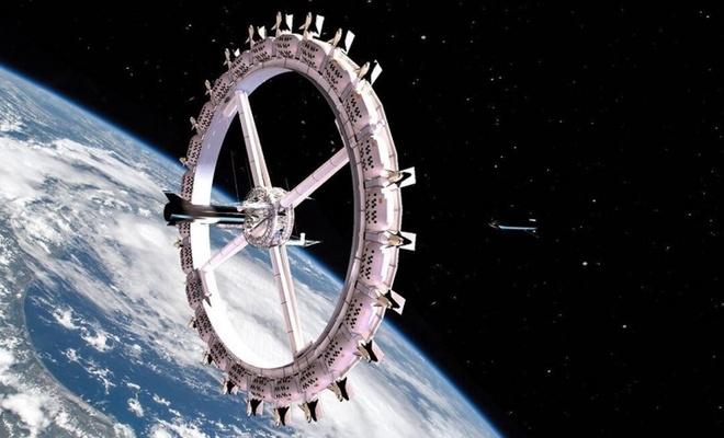 Dünyanın ilk uzay oteli
