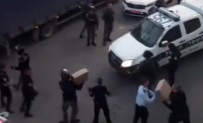 Siyonistler, Filistinlilerin topladığı yardımlara el koydu