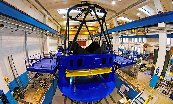 Türkiye'nin ilk kırmızı ötesi teleskobu Doğu Anadolu'da