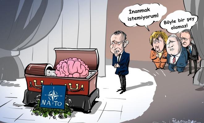 'NATO'nun beyin ölümü gerçekleşiyor'