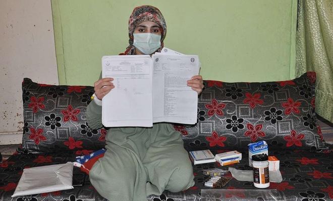 Hastalığı nedeniyle ölüm riski bulunan kadın yardım bekliyor