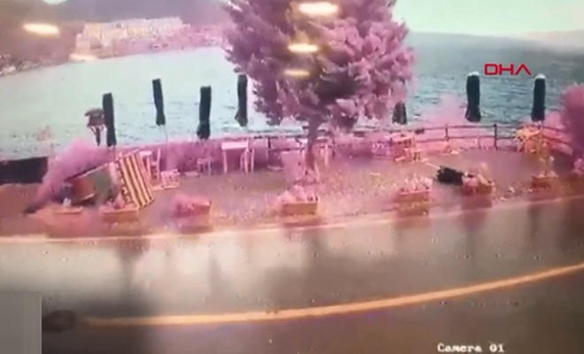Fırtına Bodrum'u vurdu!