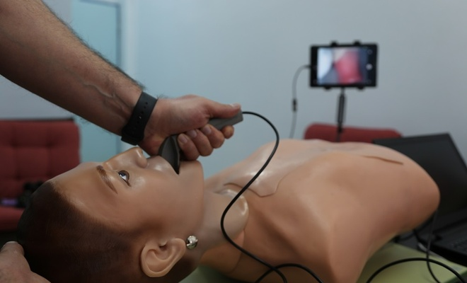 Yerli video laringoskop cihazı geliştirildi (video)