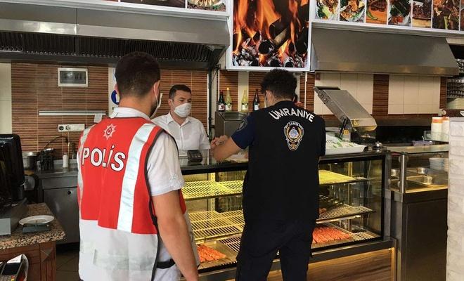 İstanbul'da yapılan Coronavirus denetimlerinde 2 işyeri faaliyetten men edildi