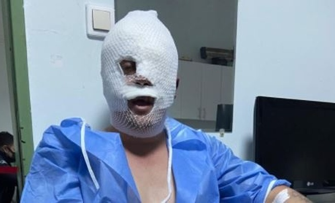 O ilimizdeki hastanede oksijen tüpü patladı