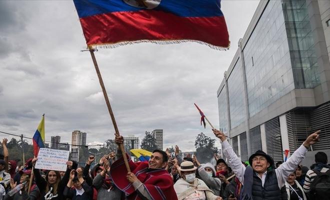 Ekvador hükümetinden yerlilere anlaşma teklifi