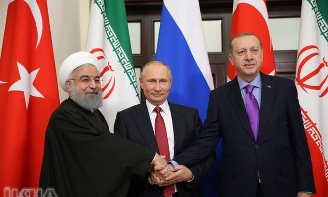 Erdoğan, Rouhani, and Putin come together in September