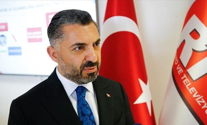 RTÜK Başkanı Şahin'den  Taşçı'ya cevap!