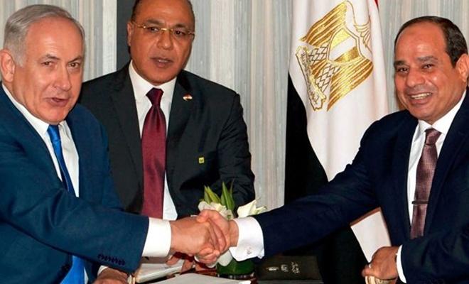 Netanyahu'dan Sisi'ye övgü: Arkadaşım Sisi'ye teşekkür ederim