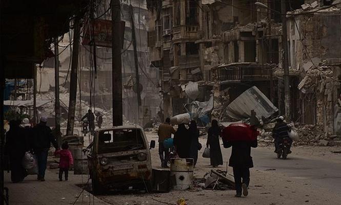 Esed tehcir ettiği sivillerin mallarına el koyuyor