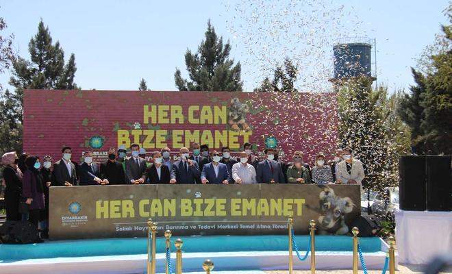 Diyarbakır'da Sokak Hayvanları Bakımevi ve Rehabilitasyon Merkezi'nin temeli atıldı