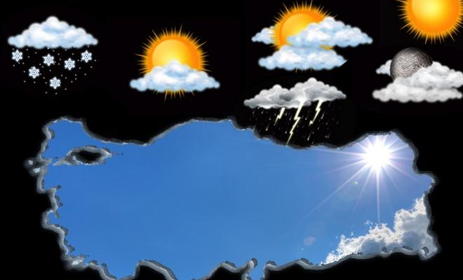 Ülke genelinde yağış beklenmiyor