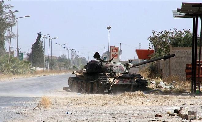 Libya ordusu Hafter'in milis liderini yakaladı