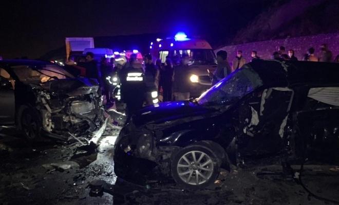 Otomobil ile cip çarpıştı: 2 ölü