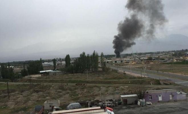 Iğdır'da patlama: 1 ölü