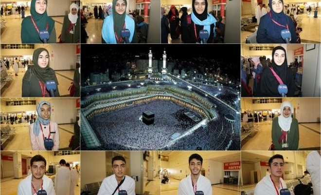 """""""Genç yaşta Allah`ın misafiri olacağımız için çok mutluyuz"""""""