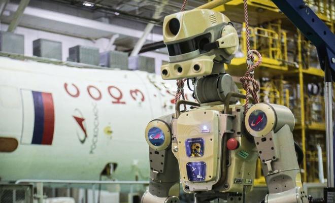 Rus insansı robot FEDOR, Dünya'ya geri döndü