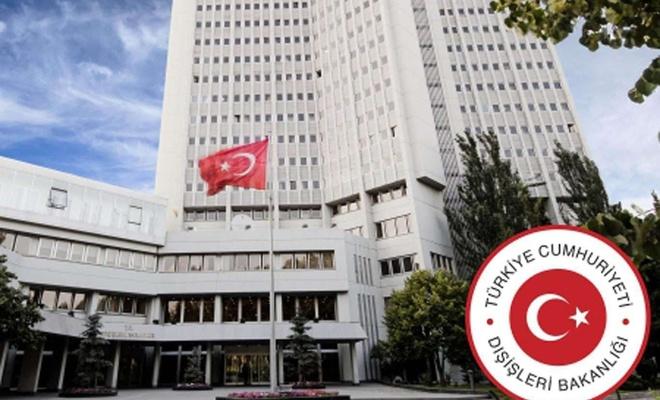 Dışişleri Bakanlığından Kızılay çalışanına saldırıya kınama