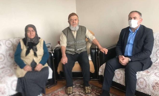 HÜDA PAR İstanbul İl Başkanından 'Sivas Davası Mağdurları'nın ailelerine ziyaret