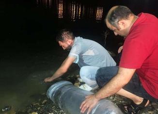Mardin'de 918 bin yavru balık su kaynaklarına bırakıldı