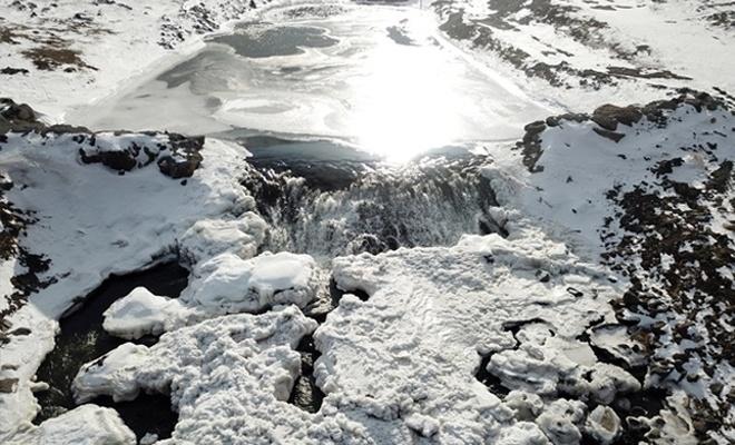 """Doğu Anadolu`da kış """"çilesi ve güzelliğiyle"""" yaşanıyor"""