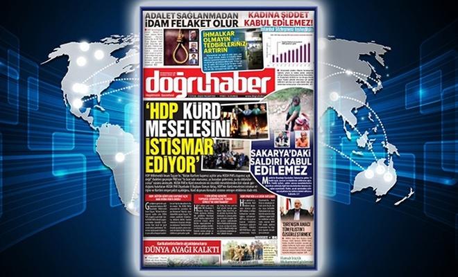 'HDP, KÜRD MESELESİNİ İSTİSMAR EDİYOR'