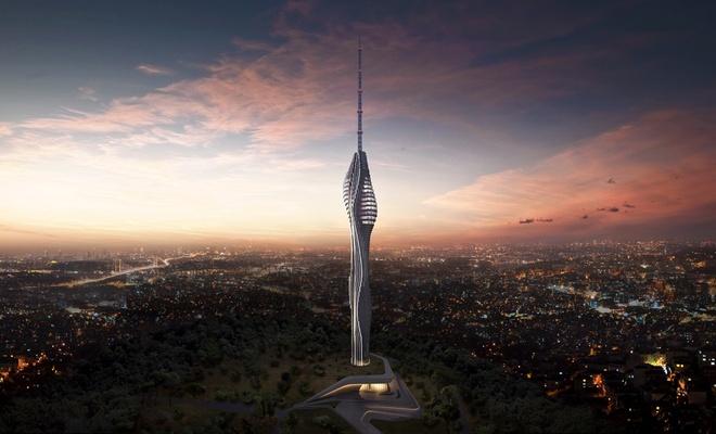 Avrupa'nın en yüksek kulesi nisanda hizmete girecek