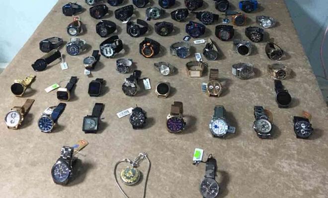 Malatya'da çalıntı kol saatlerini satın alan 2 şüpheli yakalandı
