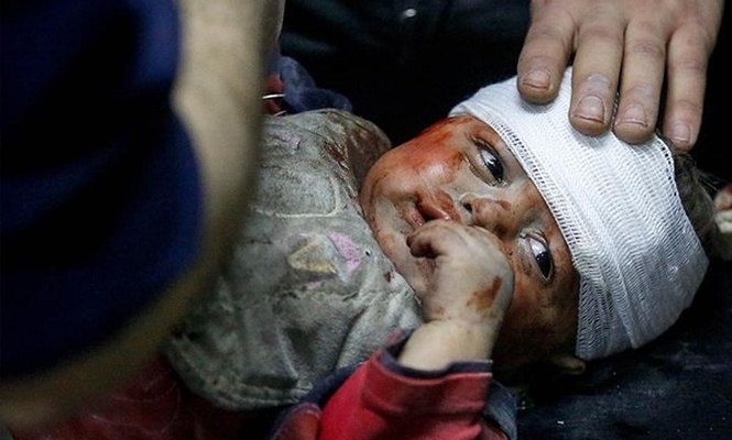 Baas rejimi ve destekçileri Doğu Guta`da 40 sivili öldürdü