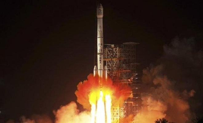 Çin, uzaya yeni uydu gönderdi!
