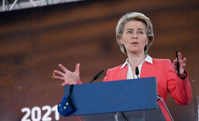Ursula von der Leyen işgal rejimini masum, Hamas'ı ise saldırgan olarak tanımladı