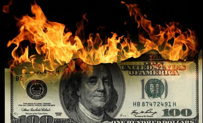 Dolar yine ateşlendi
