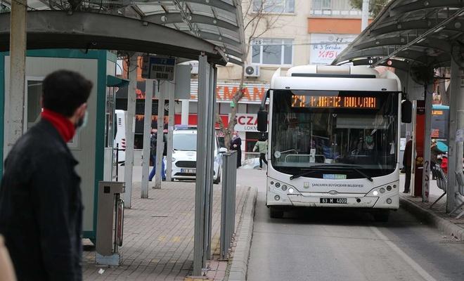 Şanlıurfa'da toplu taşıma araçları saatlerinde değişiklik yapıldı