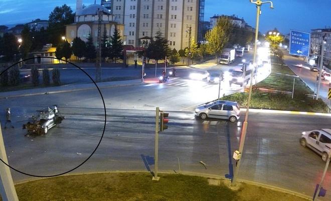 Freni patlayan kamyon, caddeyi savaş alanına çevirdi