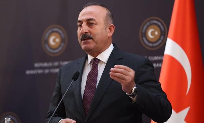 """Çavuşoğlu: """"İsrail hayalini hiçbir zaman gerçekleştiremeyecek"""""""