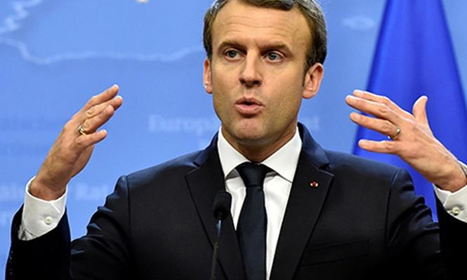 Macron`dan Esad açıklaması! Muhatap alınıp hesap vermeli