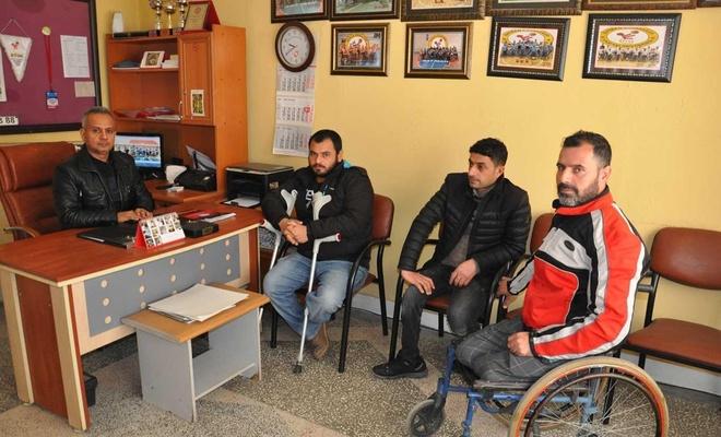 Batmanlı engelli sporcular yetkililerden maddi destek bekliyor