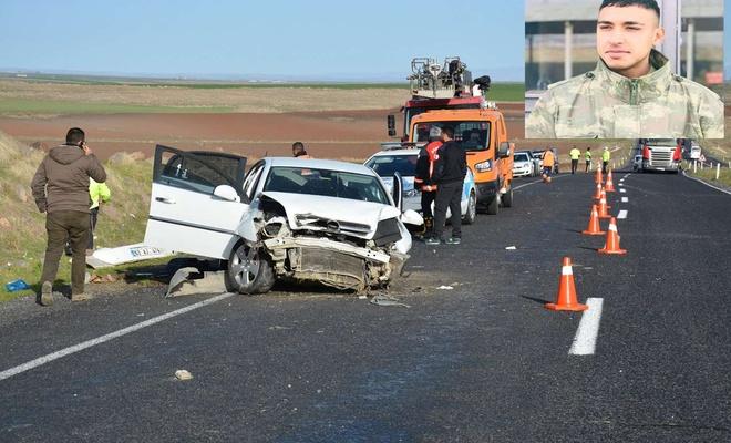 Terhis olan asker memleketine dönerken trafik kazasında can verdi