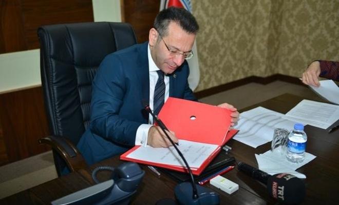 Sur Toptancılar Sitesi yapımı için protokol imzalandı