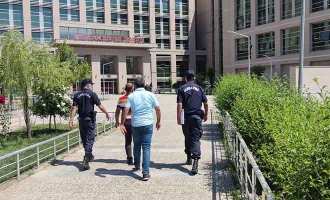 Baz istasyonu hırsızları tutuklandı