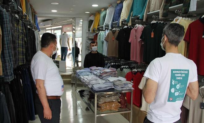 Şırnak'ta vaka sayısının artmasıyla 150 kişilik sağlık ekibi sokağa indi