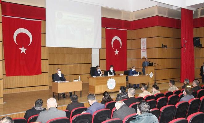 Midyat'ta yılın ilk muhtarlar toplantısı gerçekleştirildi