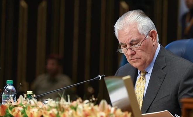 ABD Dışişleri Bakanı Tillerson`dan Afrin açıklaması