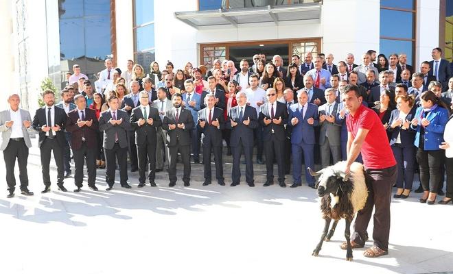 Mardin Milli Eğitim Müdürlüğü binası dualarla açıldı
