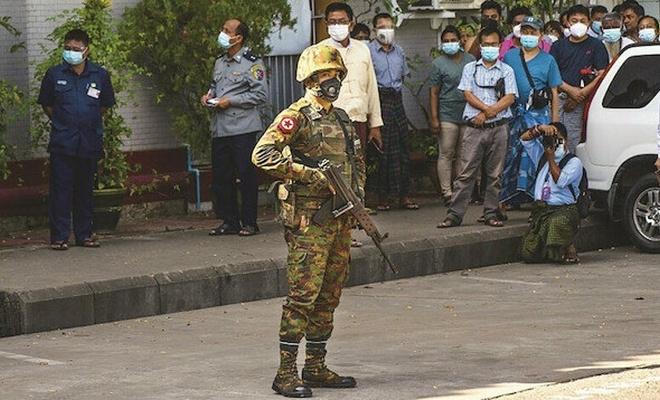 Myanmar ordusundan çocuklara yönelik hak ihlali!