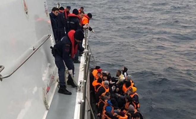 65  göçmen yakalandı