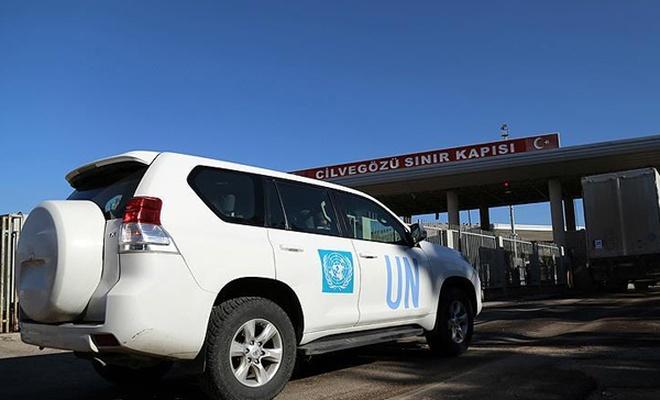 BM yardımları Cilvegözü`nden Suriye`ye geçti