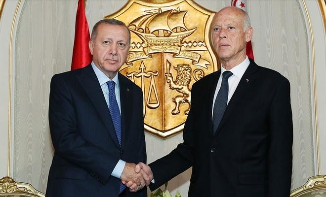 Erdoğan'dan Tunus Cumhurbaşkanı ile kritik görüşme